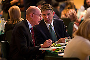 UVU President Matthew S. Holland and Henry B. Eyring, 1st counselor in the LDS Church Presidency (who was the keynote speaker) at the 76th Annual Commencement of Utah Valley University on the campus of Utah Valley University in Orem, Utah on Thursday May 4, 2017. (August Miller, UVU Marketing)