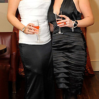 -FREE PICTURE / NO REPRODUCTION FEE-.Pictured at the annual Black and White Ball in the Blue Haven Hotel, Kinsale were Kerry Knight and Emily Acton from Kinsale..Pic. John Allen