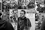 The second day of the Wizard World Madison Comic Con was held Saturday February 7, 2015 at the Alliant Energy Center in Madison, Wisconsin.  Steve Apps photographed  Saturday, Feb. 7, 2015,