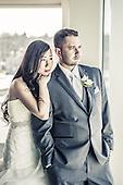 Brenda & Kevin's windy March wedding