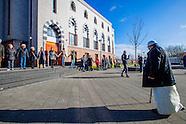Uit solidariteit met de Rotterdamse moslimgemeenschap wordt een vredesbijeenkomst gehouden bij de Es