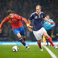 UEFA EURO 2012 Qualifier Scotland v Spain