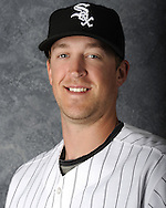 GLENDALE, AZ - MARCH 03:  Charlie Leesman of the Chicago White Sox poses for his official team headshot during photo day on March 3, 2012 at The Ballpark at Camelback Ranch in Glendale, Arizona. (Photo by Ron Vesely)   Subject:   Charlie Leesman