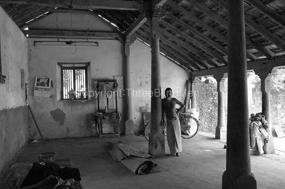 Old house in Jaffna. On a visit in 2004 with architect C. Anjalendran to document traditional and vernacular architecture.<br />