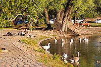 PARQUE TRES DE FEBRERO Y LAGO DE REGATAS, BOSQUES DE PALERMO, CIUDAD AUTONOMA DE BUENOS AIRES, ARGENTINA (PHOTO BY © MARCO GUOLI - ALL RIGHTS RESERVED. CONTACT THE AUTHOR FOR IMAGE REPRODUCTION)