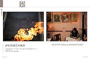 """Six page spread in Travel Plus Magazine, China. Featuring """"This Time Tomorrow"""" project from Bosnia."""