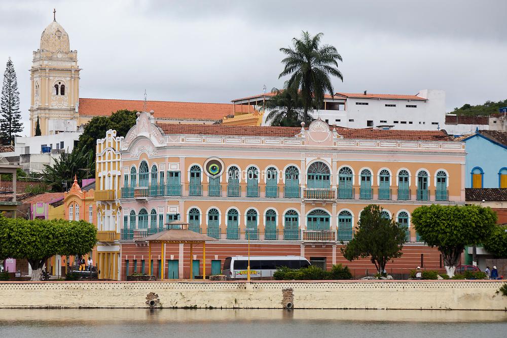 Theatro CInema Guarany, de 1922,  em Triunfo, no sertao do Pajeu, em Pernambuco / Cine- Theatre Guarany, in Triunfo, a city (the highest one) in the state of Pernambuco, Brazil.