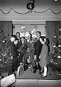 "1965 Presentation of the :""Pink Paraffin"" Bicycle awards"