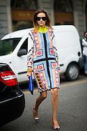 Monica Mendes at Gucci