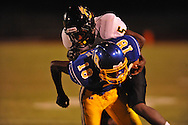 Oxford High's Nick Brown (18) vs. Charleston in Oxford, Miss. on Friday, August 24, 2012. Oxford won 21-18 to improve to 2-0.