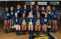 2015 A&T Volleyball Team Pictures