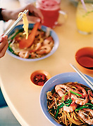 Prawn mee at the Albert Center hawker court