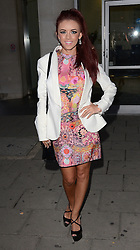 Lydia Lucy attends Cherry Edit Launch Party at Cafe Kuizen, Hanover Square, London on Wednesday 1 October 2014