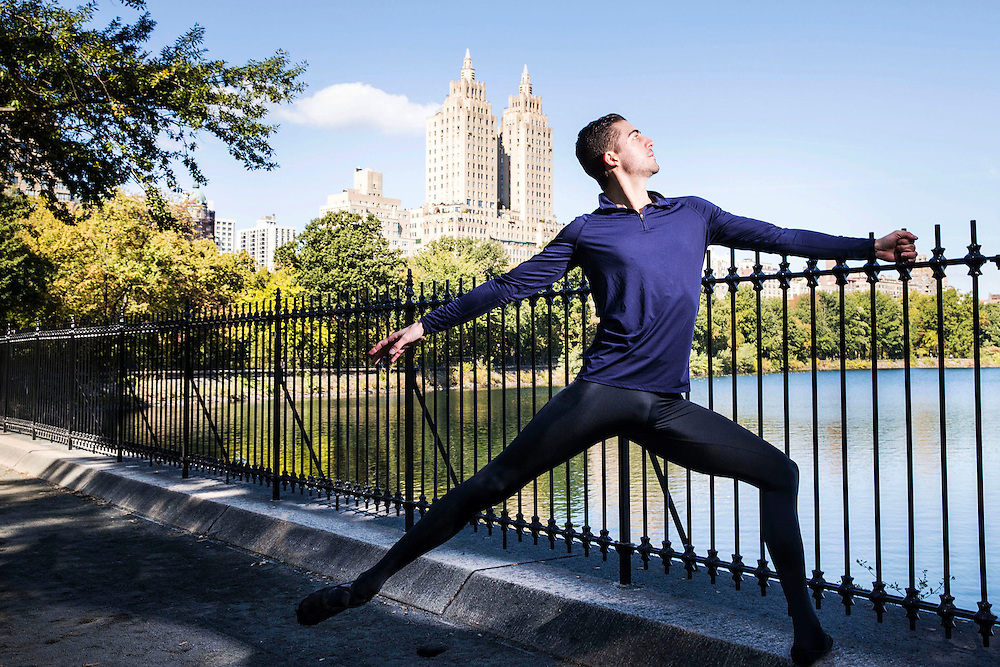 Morgan Stinnett, ballet dancer