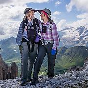 ITALY: Dolomites: Marmolada, Pordoi, Sella, Bindelweg