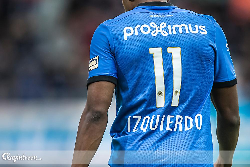 BRUGGE - Club Brugge - Zulte Waregem , Voetbal , Seizoen 2016/2017 , Jupiler Pro League Belgie Play-off 1 , Jan Breydel Stadion , 01-04-2017 ,