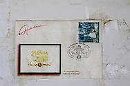 Robaina stamp at Vegas Robaina, San Luis, Pinar del Rio, Cuba.
