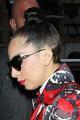 NOV 26 2014 Lady Gaga pictured at The View in New York City