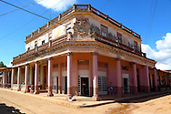 Building in Alquizar, Artemisa, Cuba.