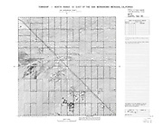 Plat map for Section 35 T1N R10E San Bernardino Meridian, CA, USA