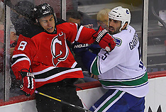 October 24, 2013: Vancouver Canucks at New Jersey Devils