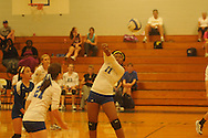 Oxford High's Anita Jones vs. Lewisburg in high school girls volleyball in Oxford, Miss. on Thursday, August 23, 2012. Lewisburg won.