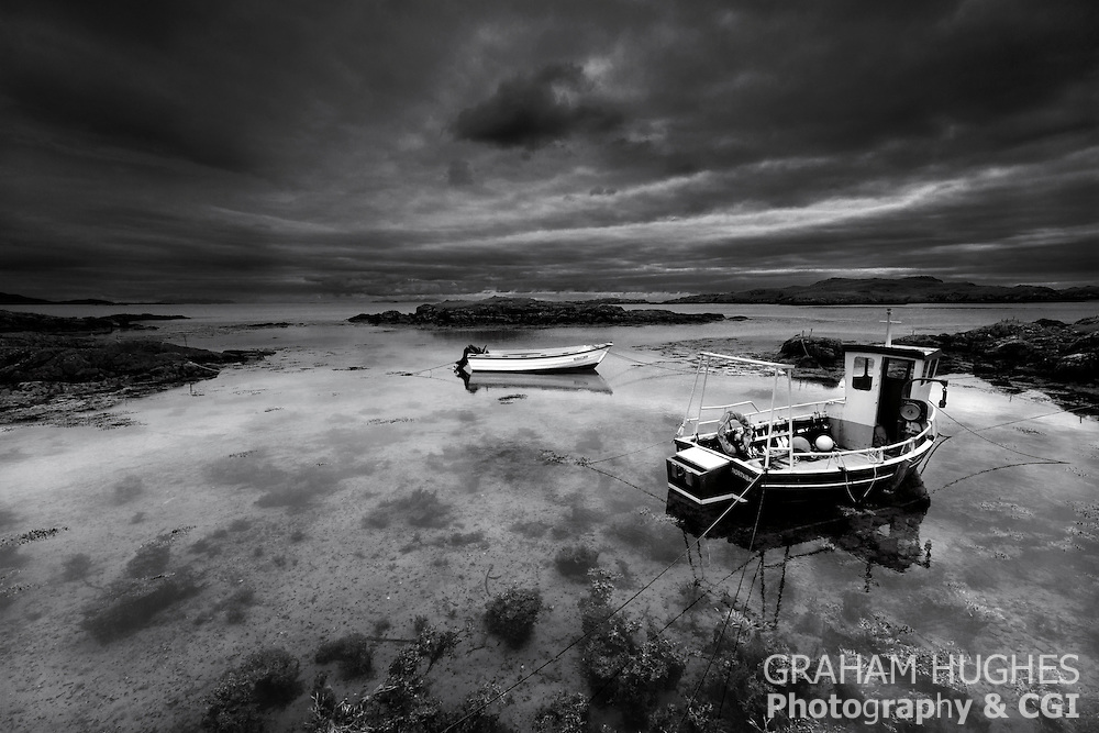 Isle Of Barra Lobster Boats