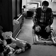 While Saleh was recovering, he and his father lived at the Children's Hospital Family House, where Raheem spread out his rug for the daily prayers. Bay Area well-wishers, who had seen Saleh on TV or had read about him in  newspapers, sent the boy toys and stuffed animals.