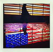 Times Square, New York..From the series Fake Polaroids. ...photo © Stefan Falke....