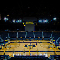 The University of Michigan Wolverines basketball team travels to Bloomington, Indiana, to take on the Hoosiers before a quick turnaround to another huge game at home against Ohio State University in Ann Arbor Michigan.  (PHOTO / CHIP LITHERLAND)