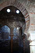 The Baths of the Mosque at The Alhambra, palace and fortress complex located in Granada, Andalusia, Spain