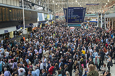 2016-06-23 Commuter chaos at Waterloo strands thousands
