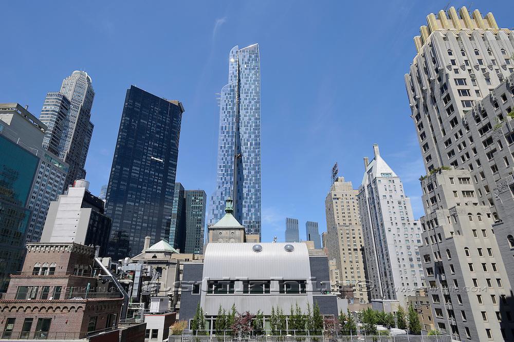 Manhattan sky line.