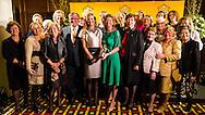 NOORDWIJK - Queen Maxima with businesswoman Vivienne Eijkelenborg (R) during the 35th edition of the award of the Prix Veuve Clicquot Businesswoman of the Year at Grand Hotel Huis ter Duin. copyright robin utrecht luka de kruijf NOORDWIJK - Koningin Maxima samen met zakenvrouw Vivienne van Eijkelenborg (R) tijdens de 35e editie van de uitreiking van de Prix Veuve Clicquot aan de Zakenvrouw van het Jaar in Grand Hotel Huis ter Duin. copyright robin utrecht  luka de kruijf
