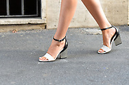 Black and White Mirror Heels, Outside No. 21