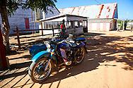 Motorcycle in Vegas Robaina, San Luis, Pinar del Rio, Cuba.