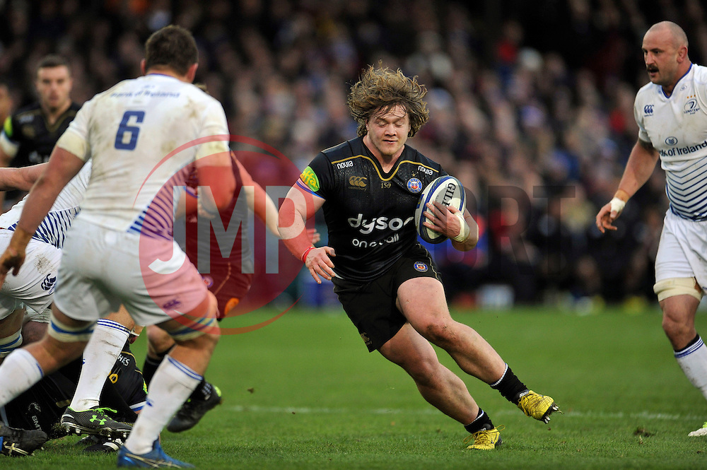 Nick Auterac of Bath Rugby in possession - Mandatory byline: Patrick Khachfe/JMP - 07966 386802 - 21/11/2015 - RUGBY UNION - The Recreation Ground - Bath, England - Bath Rugby v Leinster Rugby - European Rugby Champions Cup.