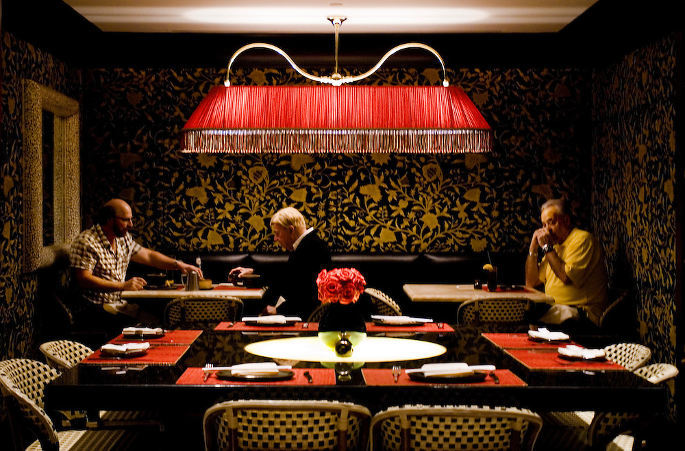 Red 8 restaurant at the Wynn Hotel in Las Vegas..Photographer Chris Maluszynski /MOMENT