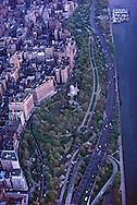 Riverside Park, Upper West Side, Aerial, Manhattan, New York City, New York