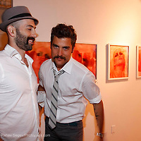 """Douglas Friedman attends the opening of """"Lady"""" by Douglas Friedman at the Ruffian Gallery on April 23, 2009 in New York City."""
