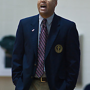 12/27/11 Wilmington DE: Bishop McGuinness Catholic Head Coach Brian Robinson yells out instructions to his team during a Diamond State Classic game Tuesday Dec. 27, 2011 at St. Elizabeth High School in Wilmington Delaware...Special to The News Journal/SAQUAN STIMPSON