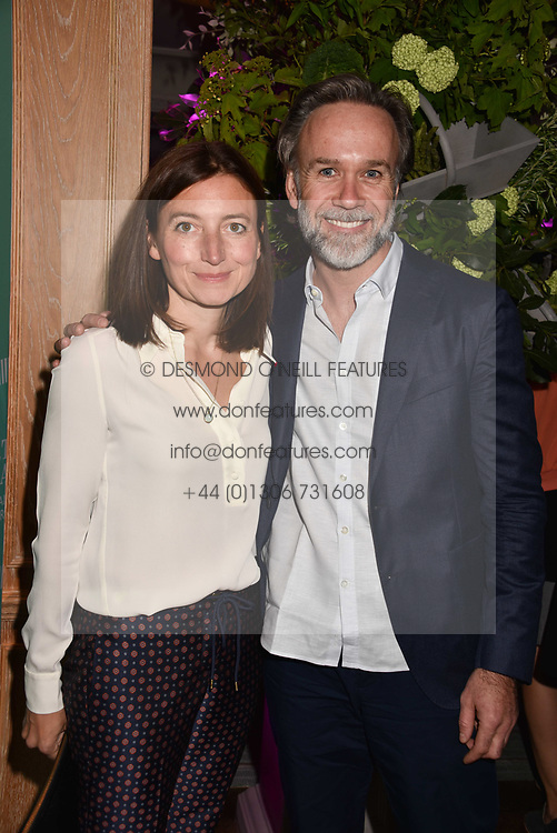 Marcus Wareing and his wife Jane at the 2017 Fortnum &amp; Mason Food &amp; Drink Awards held at Fortnum &amp; Mason, Piccadilly London England. 11 May 2017.<br /> Photo by Dominic O'Neill/SilverHub 0203 174 1069 sales@silverhubmedia.com