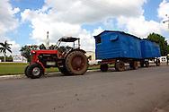 Beer wagon in Ciego de Avila, Cuba.