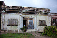 Houses in Antilla, Holguin, Cuba.