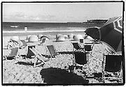 Bondi Beach deck chairs