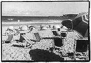 Bondi Beach deck chairs