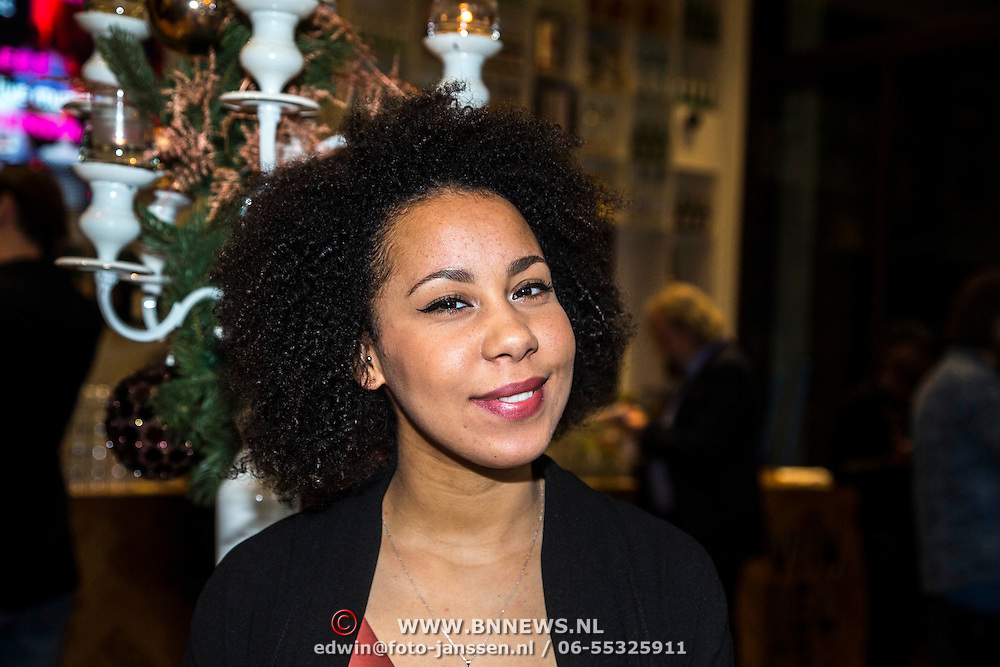 NLD/Amsterdam/20141217 - Musical Awards Nominatielunch 2015, Aicha Gill