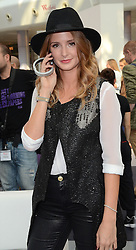 Millie Macintosh attends the Westfield 24 Hour Hackathon were she was a judge at The Atrium,Westfield,London on Sunday 21st September 2014