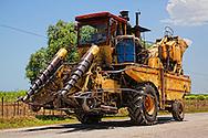 Sugar cane equipment near Yara, Granma, Cuba.
