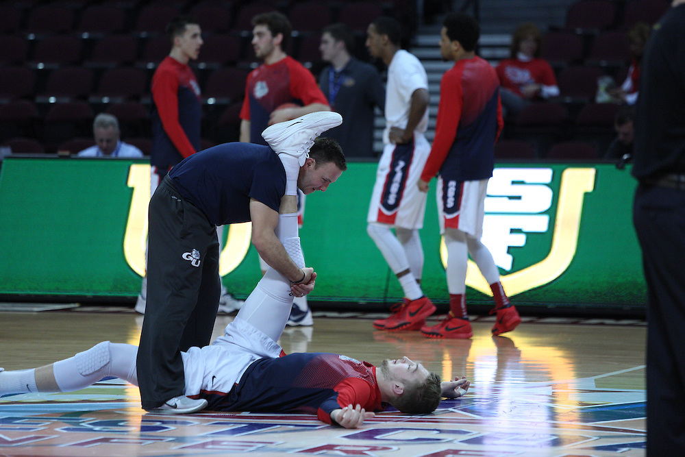 The Zags beat USF 81-71 in the quarterfinals of the WCC tournament.
